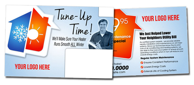 It's Time For Fall HVAC Tune-Up Cards